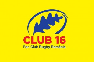 Logo Club 16 Fan Club Rugby Romania