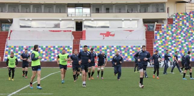 Antrenamentul capitanului Tbilisi